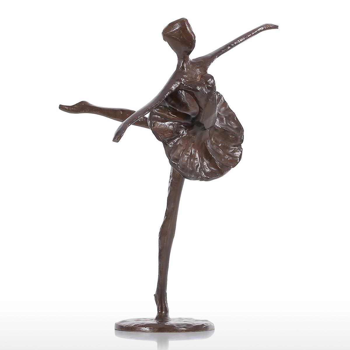 Best and cheap bronze ballet bronze sculpture metal Home decor sculptures