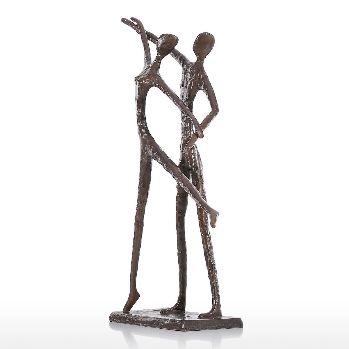 Sculpture Home Decor: Best And Cheap Bronzed Double Dance 2 Modern Dance Bronze